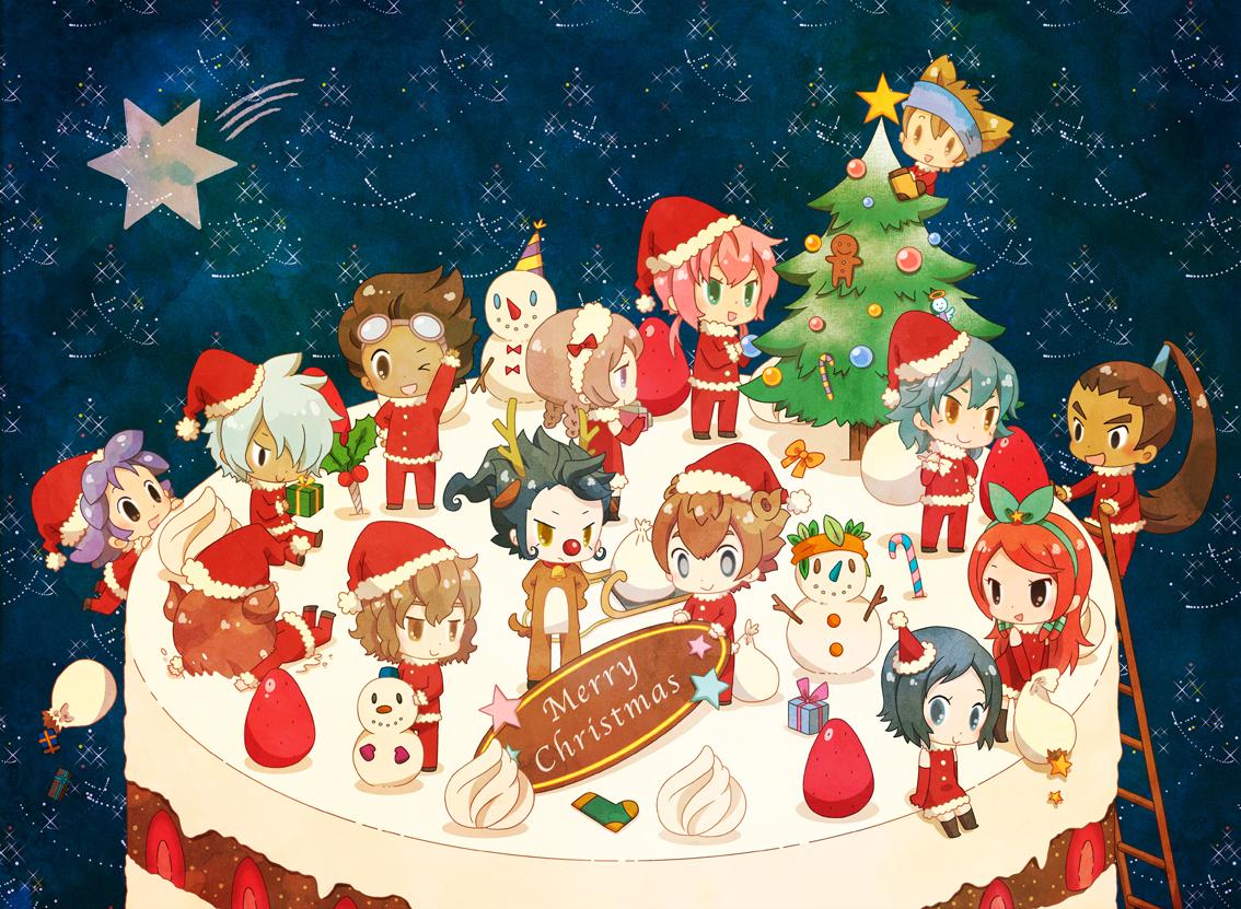 Dibujos de navidad de Varios Animes 23546634